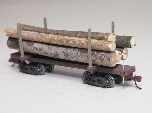 HOn30 Logging Car B 3d printed