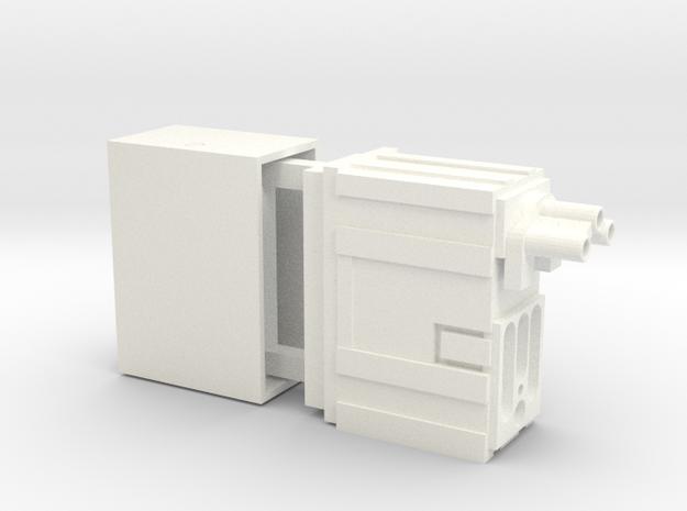 Hengstler Counter for E11 Blaster in White Processed Versatile Plastic