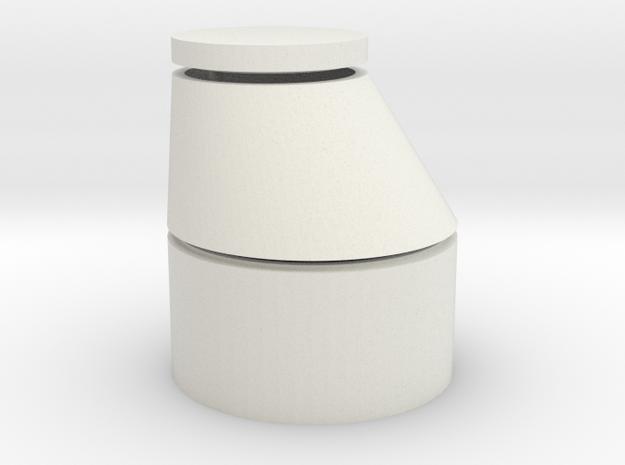 S1-411  Einstiegsschacht für Felddrainage in White Natural Versatile Plastic