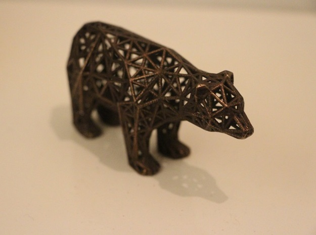 Bear bottle opener - meshified