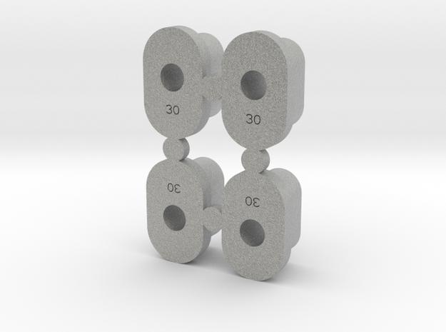 Ksg Insert 030 in Metallic Plastic