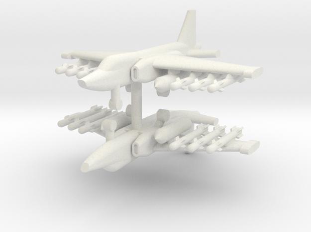 1/200 Su-25 Frogfoot (x2) in White Natural Versatile Plastic