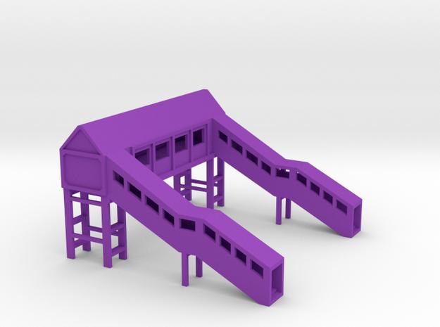 Footbridge 1:450 3d printed