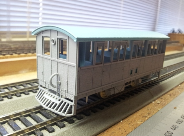 AO Railcar (Part2 lower) 3d printed