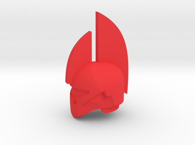 Honor Guard Helm in Red Processed Versatile Plastic