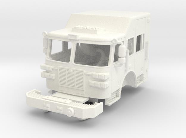 1/87 Sutphen High cab in White Processed Versatile Plastic
