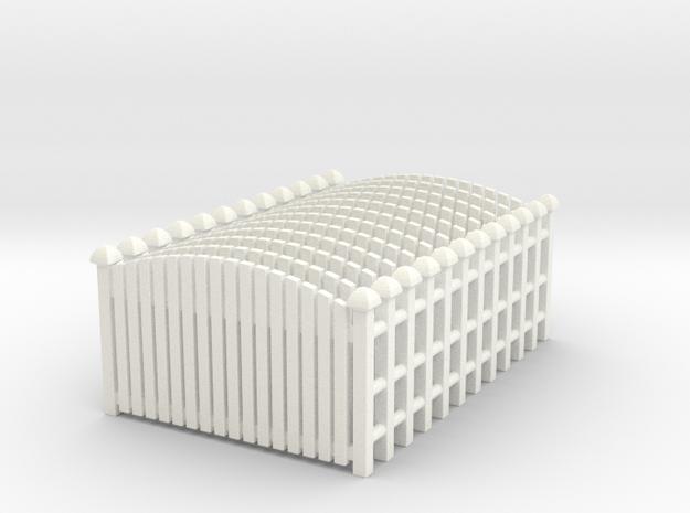 Fence 02. HO Scale (1:87)
