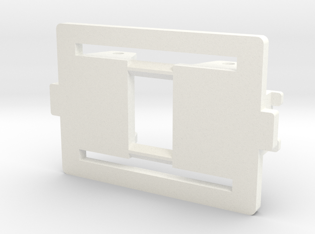 Cubo Badoni tractor dummy Frame in White Strong & Flexible Polished