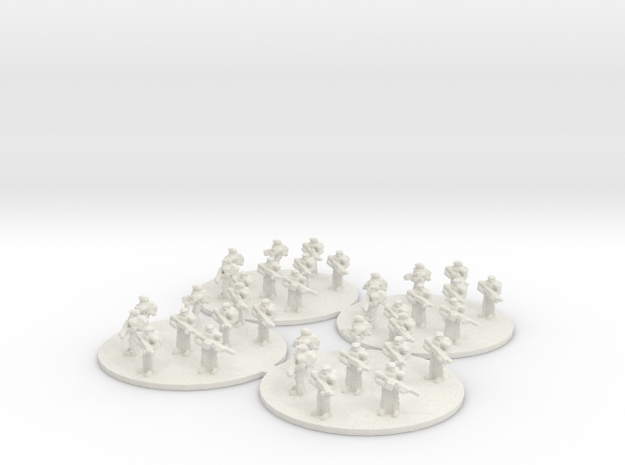 Sci Fi Infantry Platoon (based) 6mm SFP