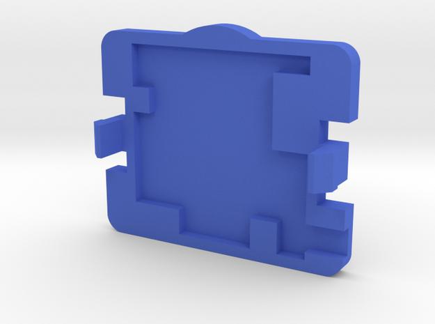 PureThermal 1 Case - Part 2/2 in Blue Processed Versatile Plastic