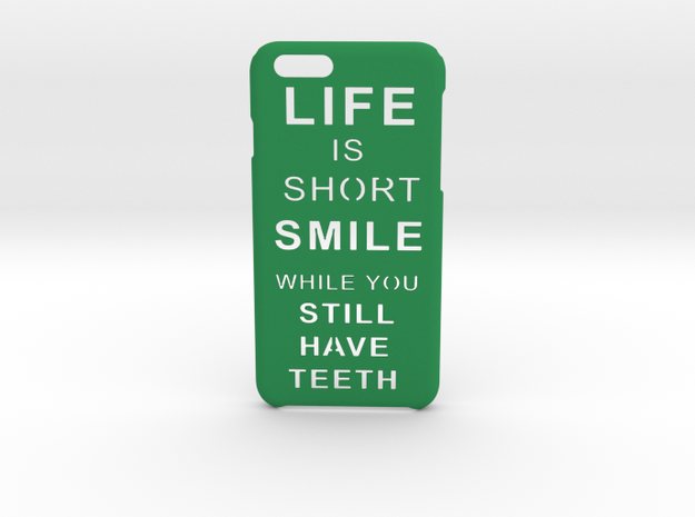 LifeIsShort iPhone 6 6s case