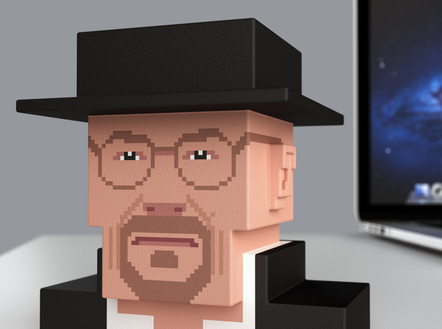Breaking Bad Heisenberg (small) in Full Color Sandstone