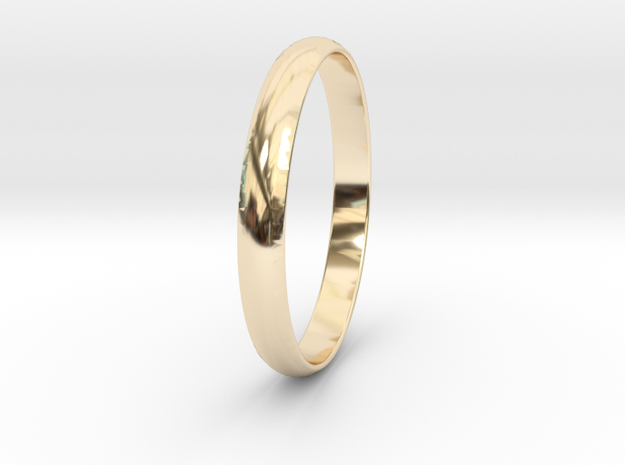 Ring Size 6.5 Design 4 in 14K Yellow Gold