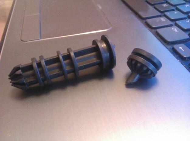 Volvo V50 headlight height adjustment screw 3d printed broken part