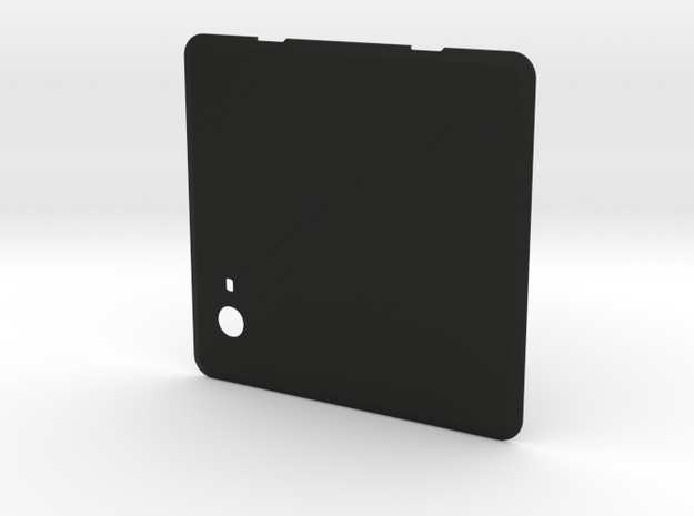 NUC Chassis Removable Cover - Add Your Logo! in Black Strong & Flexible