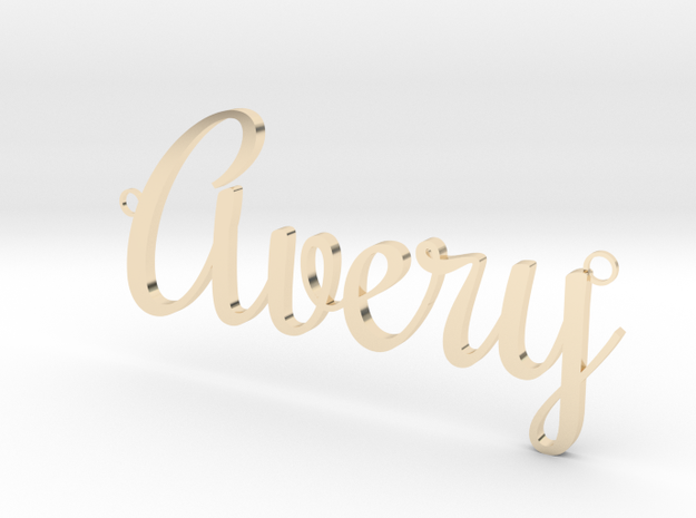 Avery Pendant in 14K Yellow Gold
