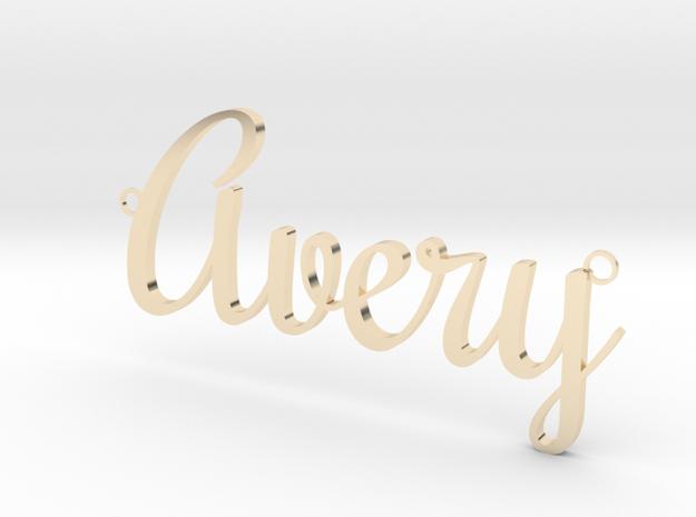 Avery Pendant in 14K Gold