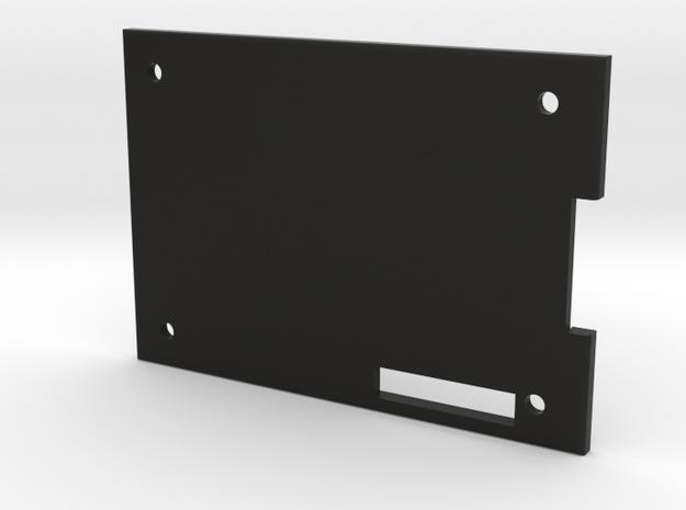 B200 Mini Case Bottom V4 in Black Natural Versatile Plastic