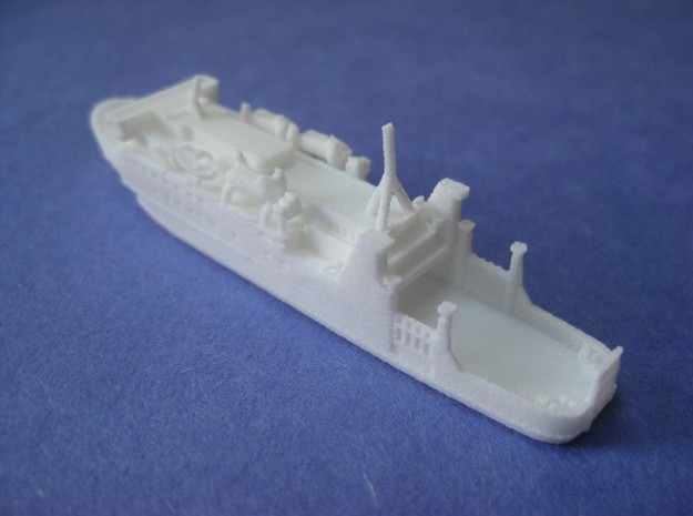 MV Lord of the Isles (1:1200) 3d printed