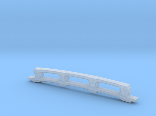 Decorative stern beam for Kolderstok Batavia in Smooth Fine Detail Plastic