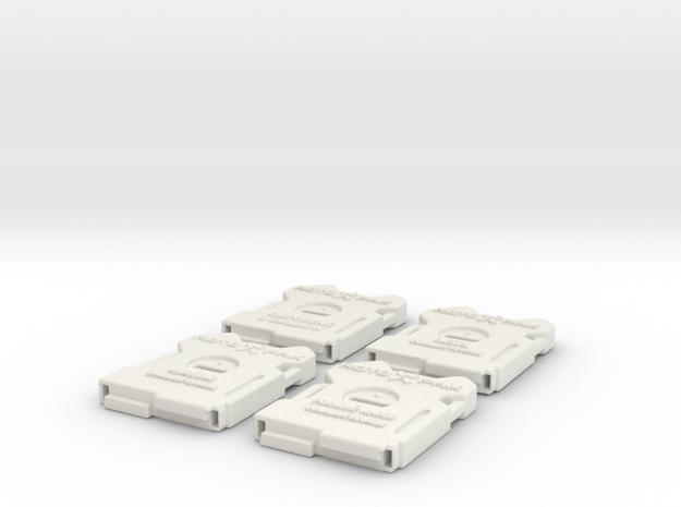 RotopaX 2 Gallon Pack in White Natural Versatile Plastic