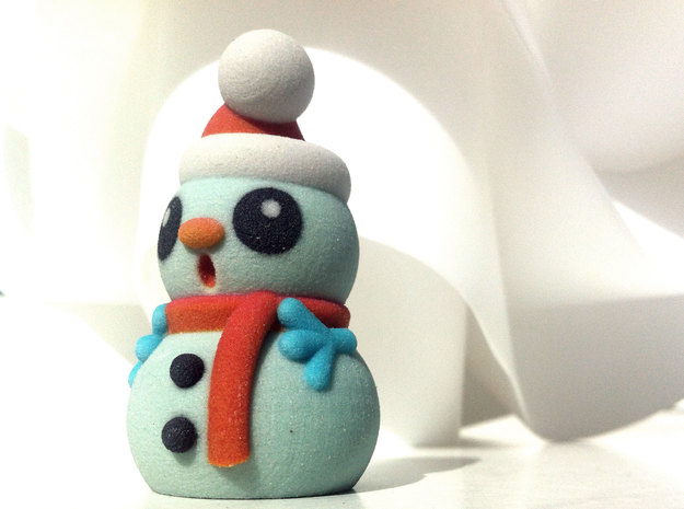 SNOWMAN C in Full Color Sandstone