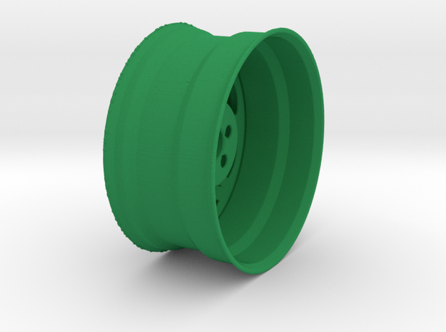 Wheel in Green Strong & Flexible Polished