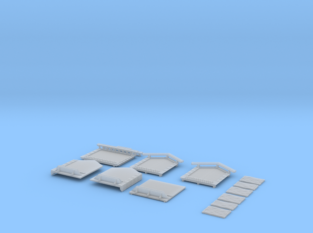 NAQ22 Platform shelter in Smooth Fine Detail Plastic