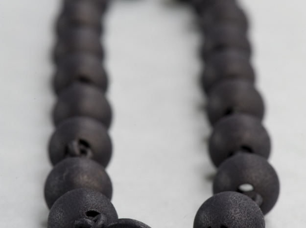 Smooth Ball Necklace - 46cm 3d printed