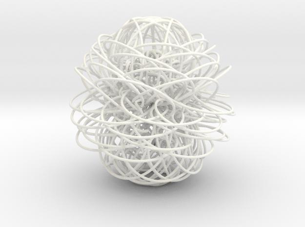 39 in White Processed Versatile Plastic