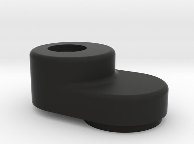 M03 Gear Cover V2 in Black Natural Versatile Plastic