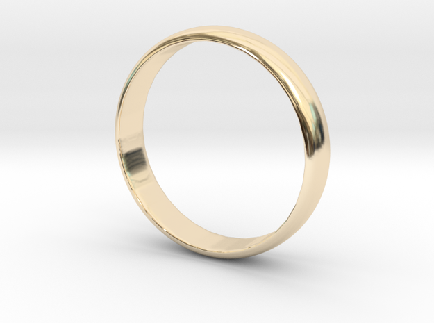 Simple Ring Size 6 in 14K Gold
