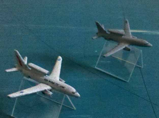 1/1200 Boeing 737 AEW&C (E-7A Wedgetail) 3d printed Two models in Australian and South Korean (rear) colours