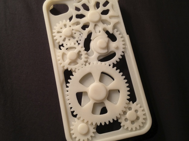 Shell for iPhone 4/4S Gear Case 3d printed