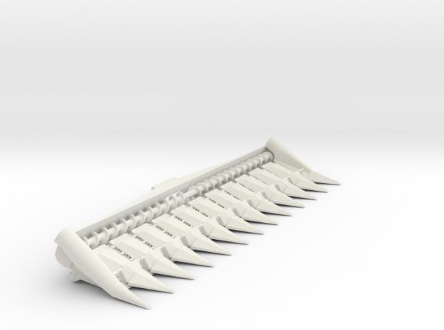 N series 12 Row in White Natural Versatile Plastic