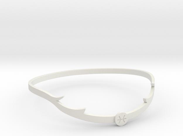 Tiaratop in White Natural Versatile Plastic