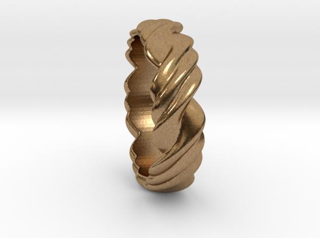Ring 3 twist Size 17 mm  (us= 7)