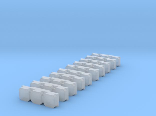 Heckwarnanlage Triblitz 2 - 10 Stück 1/87 in Smoothest Fine Detail Plastic