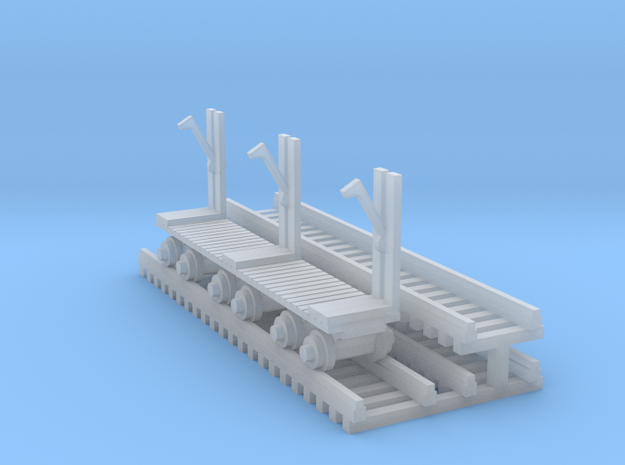 Log Mover - N 160:1 ScaleLogMover+Log in Smooth Fine Detail Plastic