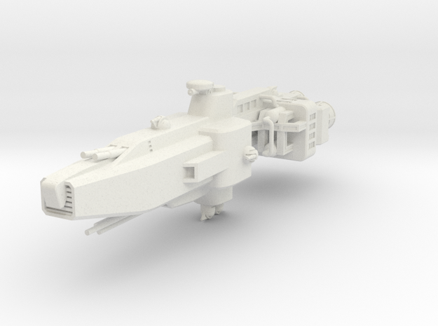 EA Command Cruiser Large in White Natural Versatile Plastic