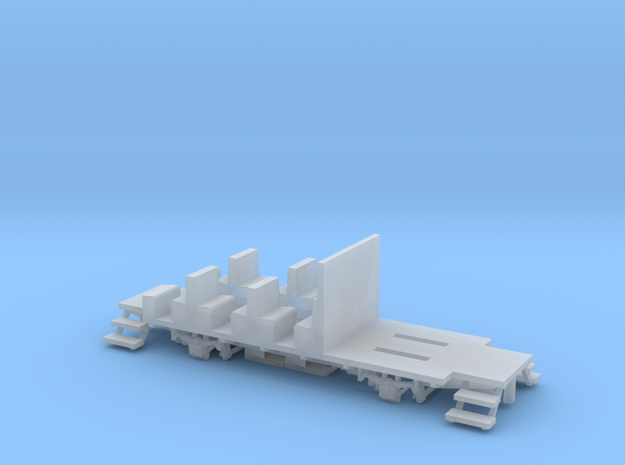 YsteC BD26 Chassis (H0m, 1:87) in Smooth Fine Detail Plastic