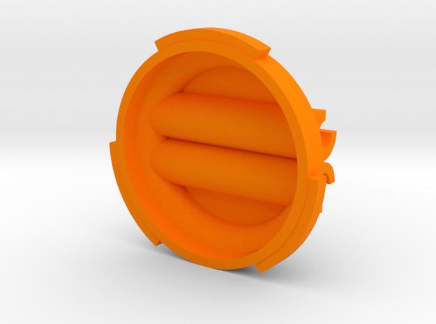 Raspberry Pi Camera PiBall Cable Guide PB5GCG in Orange Processed Versatile Plastic