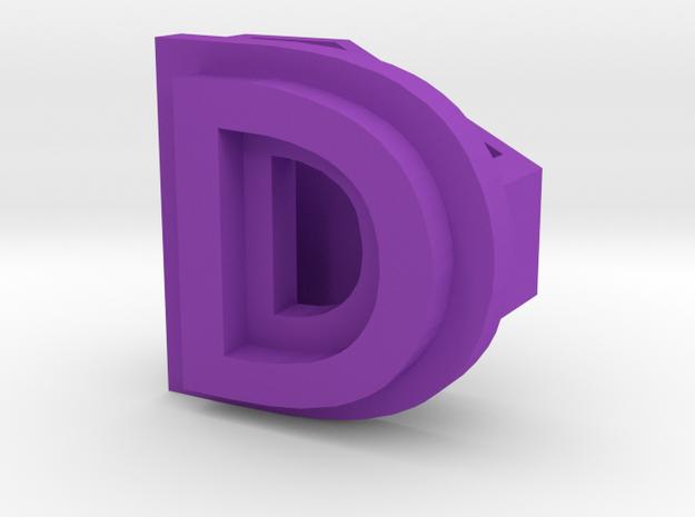 BandBit D2 for Fitbit Flex in Purple Processed Versatile Plastic