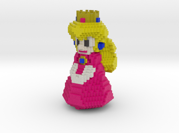 Princess Peach in Full Color Sandstone