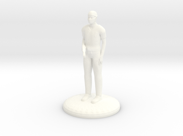 Doctor Bonesaw 27mm version in White Processed Versatile Plastic