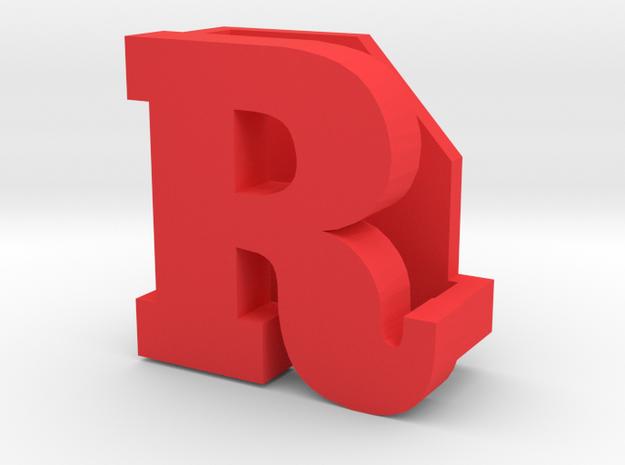 BandBit R for Fitbit Flex in Red Processed Versatile Plastic