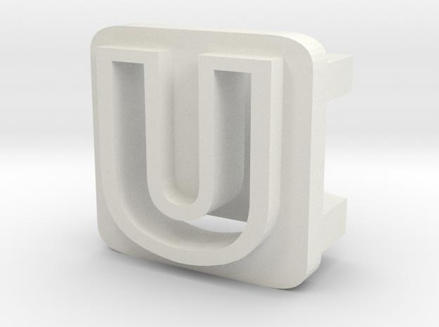 BandBit U2 for Fitbit Flex in White Natural Versatile Plastic