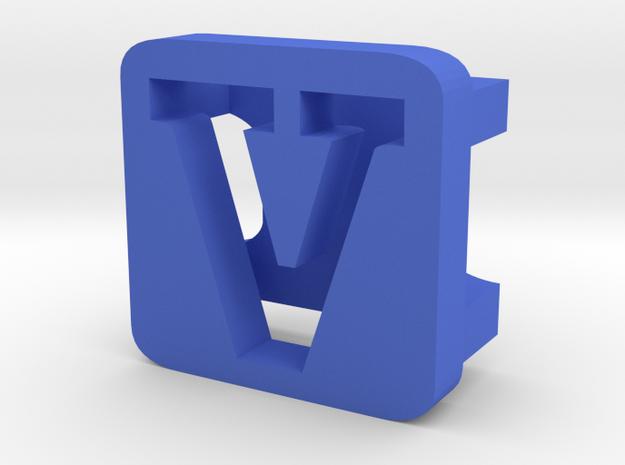 BandBit V2 for Fitbit Flex in Blue Processed Versatile Plastic