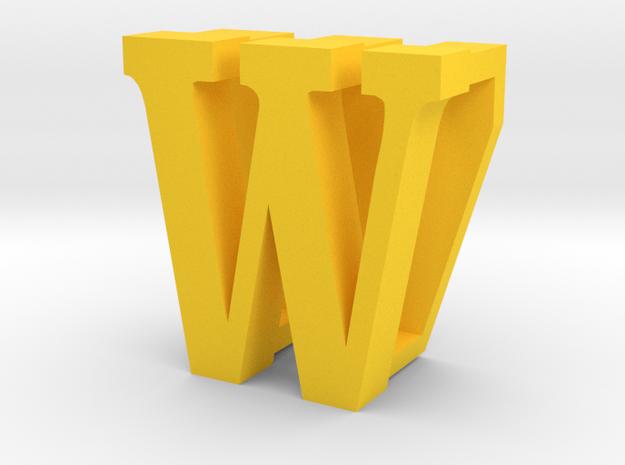 BandBit W2, Fitbit Flex (Fits parallel to strap.) in Yellow Processed Versatile Plastic