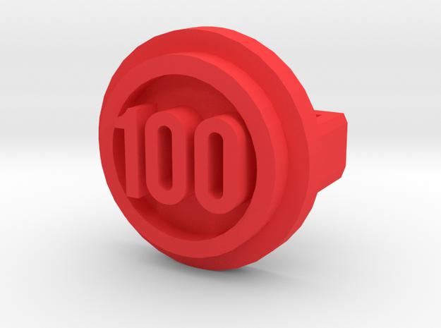 BandBit Barre 100 Class in Red Processed Versatile Plastic